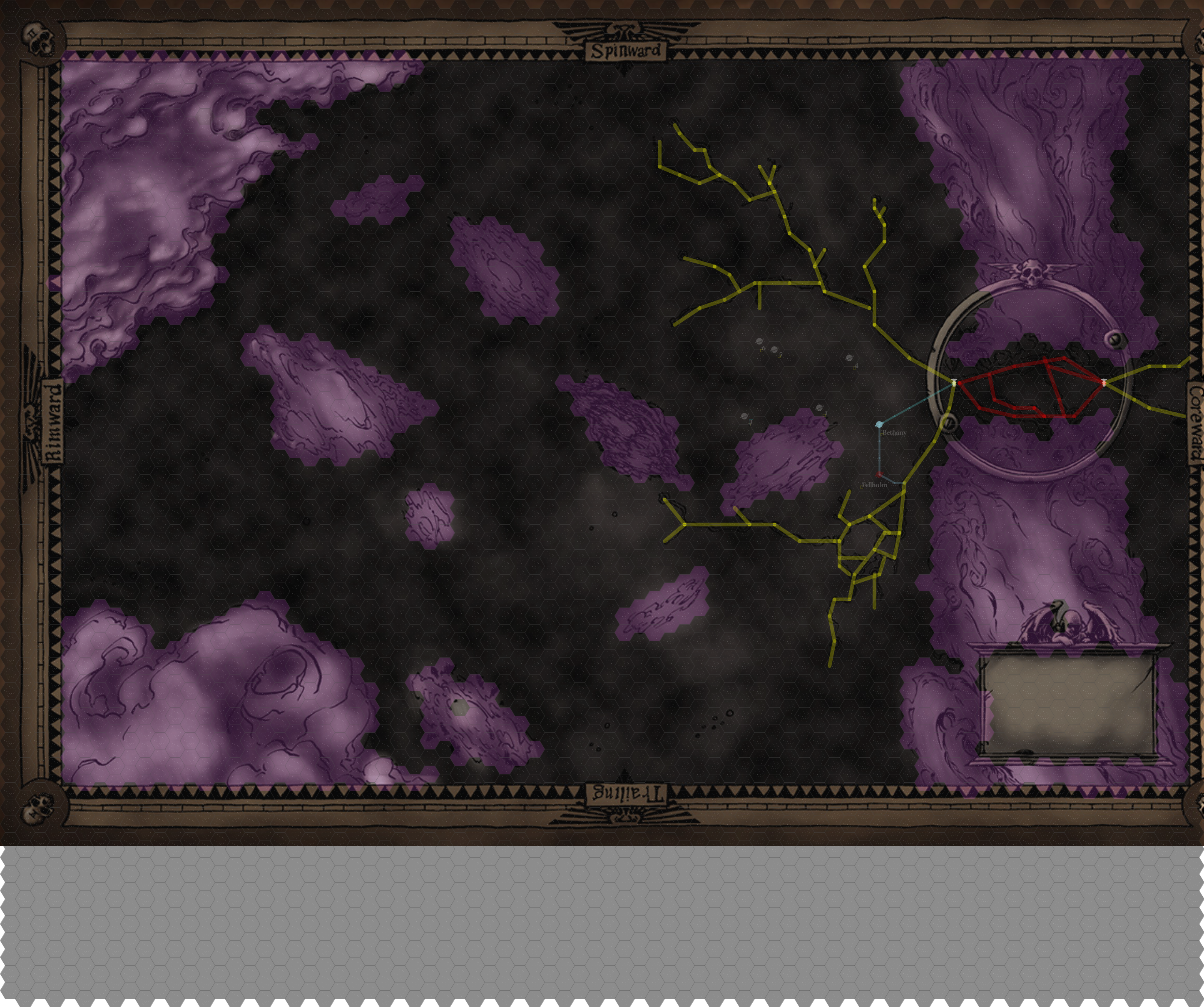 Liry - Dark Trader Koronus Expanse Map on
